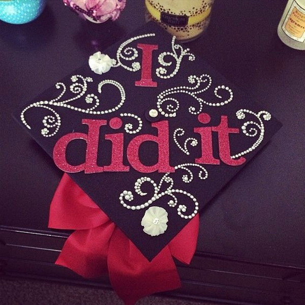 I Did It Graduation Cap.
