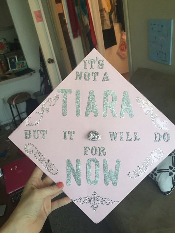 College Graduation Cap Decoration Princess