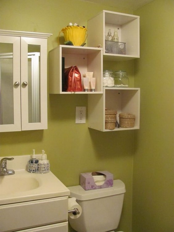 Awesome Over The Toilet Storage Amp Organization Ideas