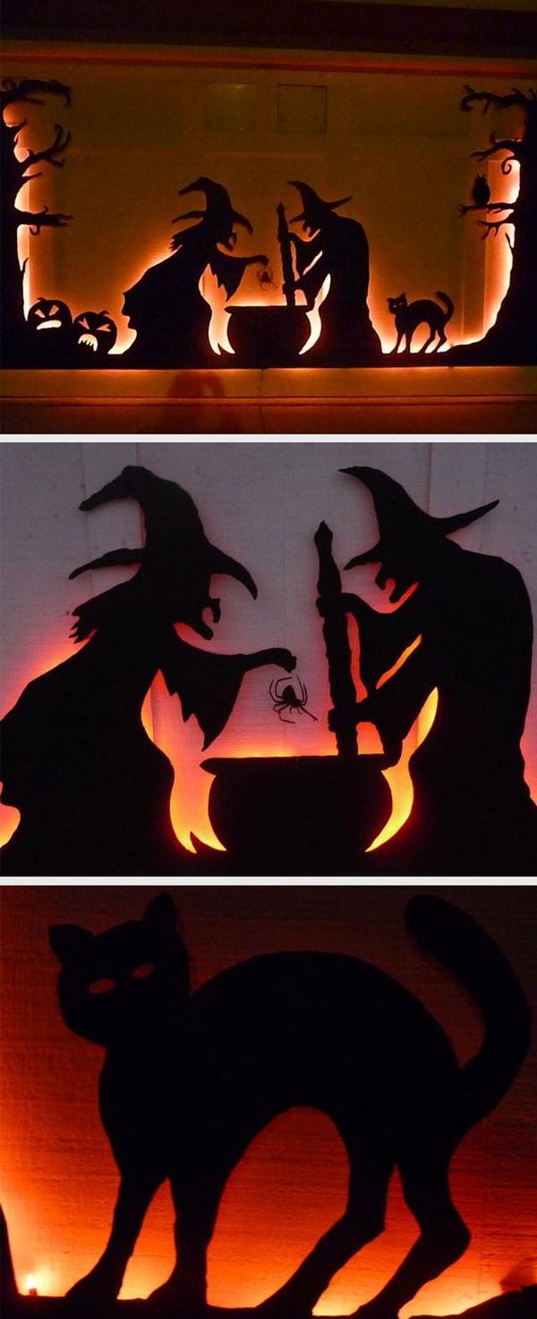 30 homemade halloween decoration ideas listing more. Black Bedroom Furniture Sets. Home Design Ideas