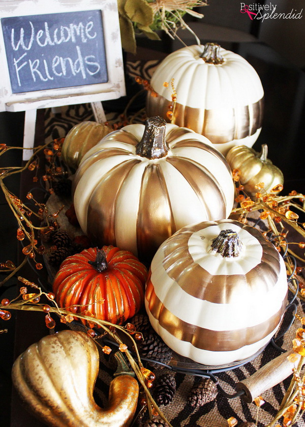 No carve pumpkin decoration ideas tutorials listing