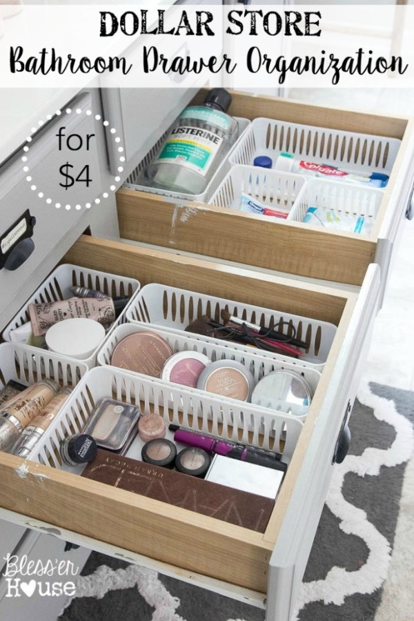 IKEA Alex Drawers For Makeup Storage Solution & 18 Amazing DIY Makeup Storage Ideas and Hacks - Listing More