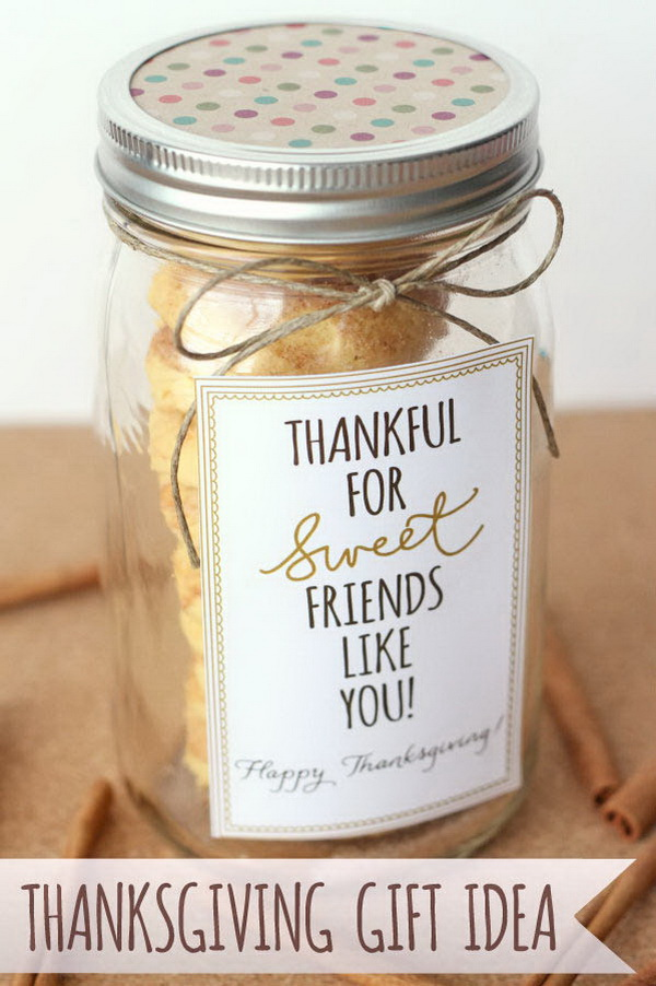 Cake Batter Snickerdoodles Gift + Gratitude Blog Hop。 Quick and Inexpensive Christmas Gift Ideas for Neighbors
