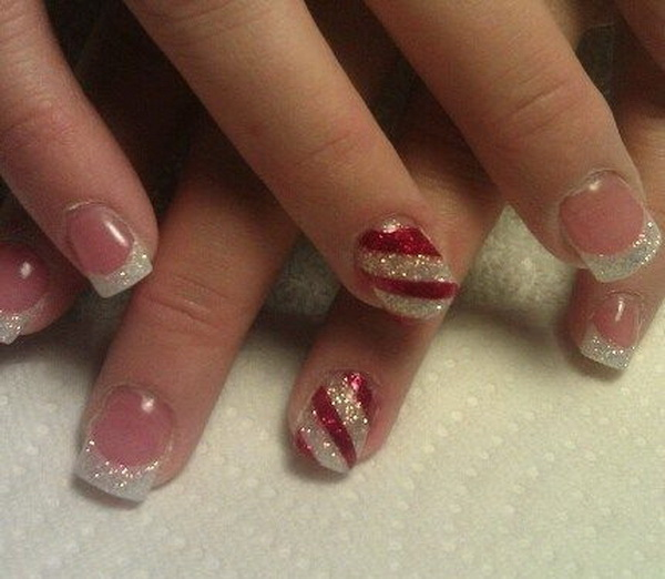 65+ Festive Christmas Nail Art Designs - 65+ Festive Nail Art Ideas For Christmas - Listing More