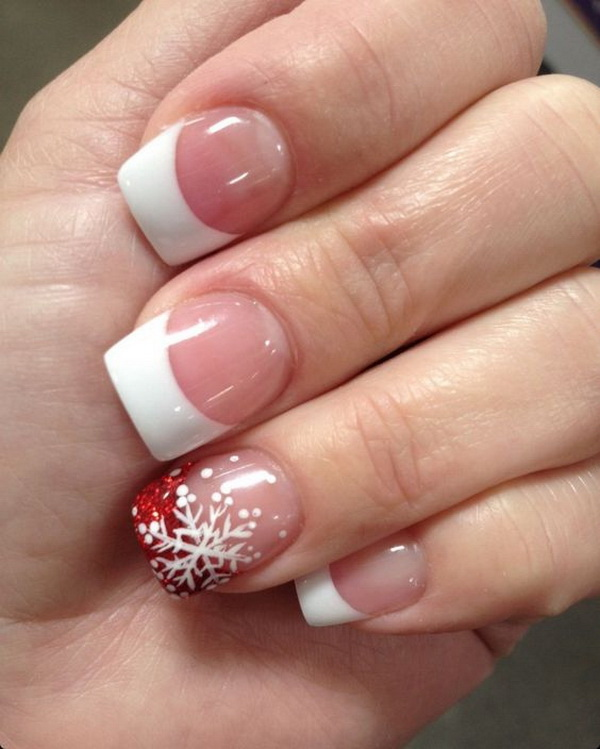 Winter Christmas Nail Designs: 65+ Festive Nail Art Ideas For Christmas