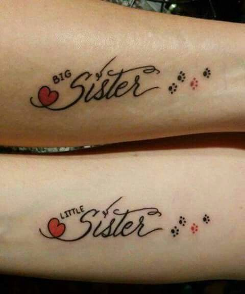 40 Inspirational Ideas Of Sister Tattoos Listing More