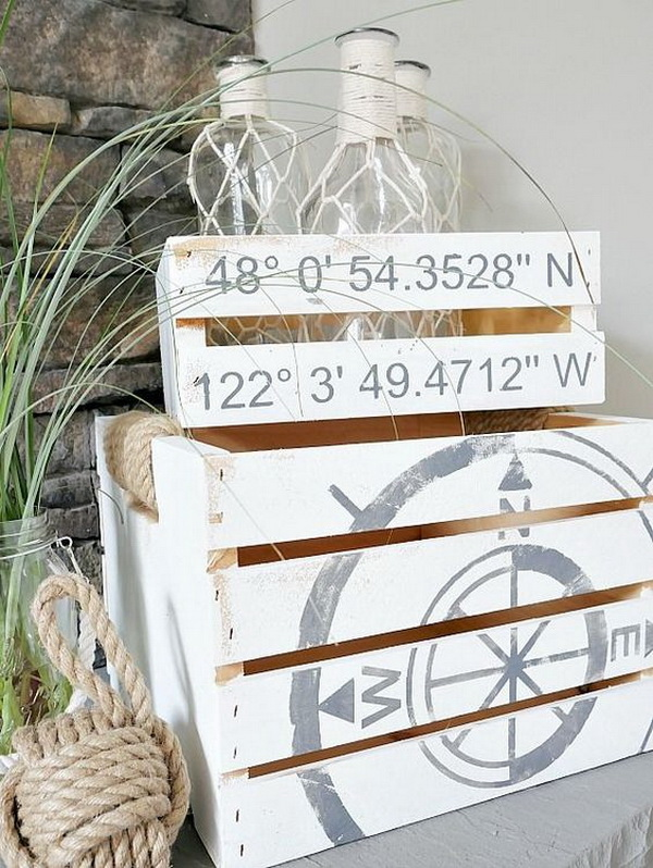 DIY Rustic Coastal Decor.