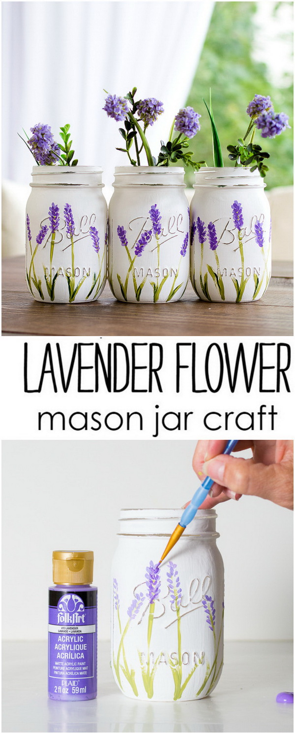 40 Creative DIY Mason Jar Projects with Tutorials - Listing More