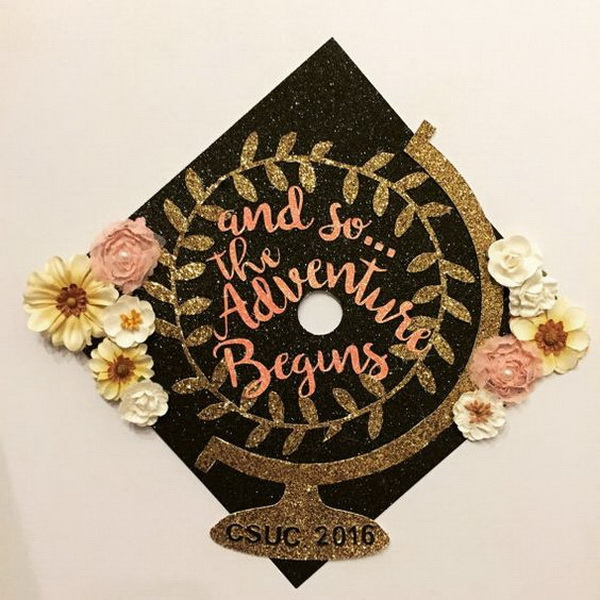 50+ Beautifully Decorated Graduation Cap Ideas - Listing More