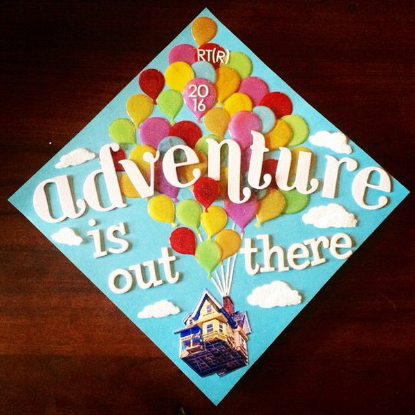 50+ Beautifully Decorated Graduation Cap Ideas.