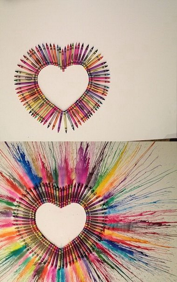 Fantastic Melted Crayon Art Ideas.