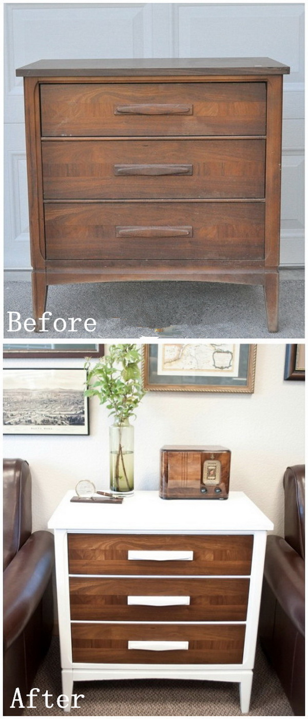 DIY Furniture Makeovers: DIY Farmhouse Chest.
