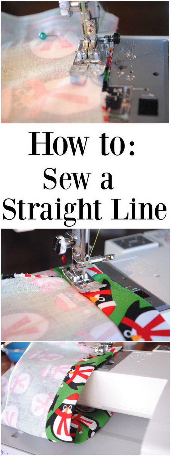 Best Sewing Tips & Tricks: How To Sew A Straight Line.
