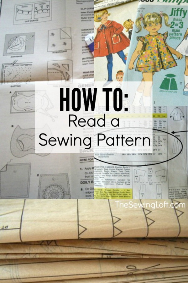 Best Sewing Tips & Tricks: How to Read a Sewing Pattern.