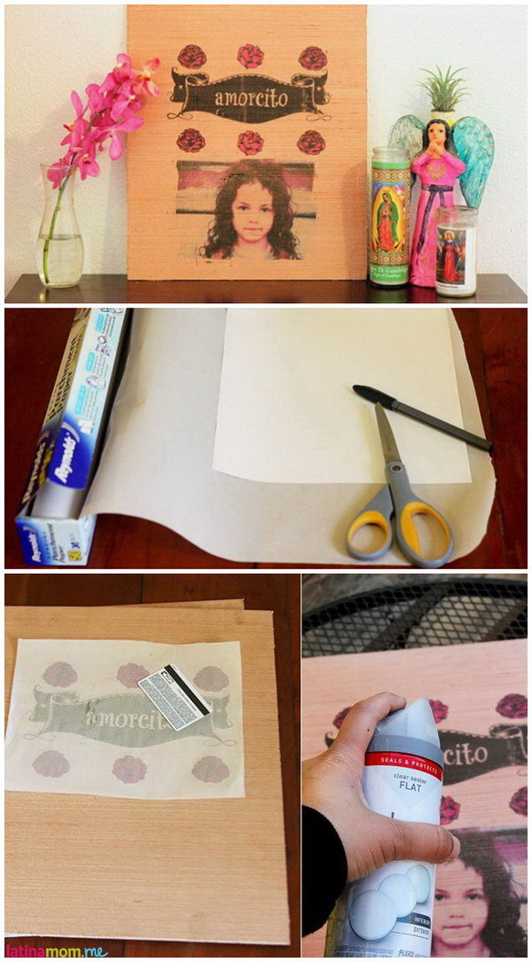 DIY Photo Transfers to Wood.