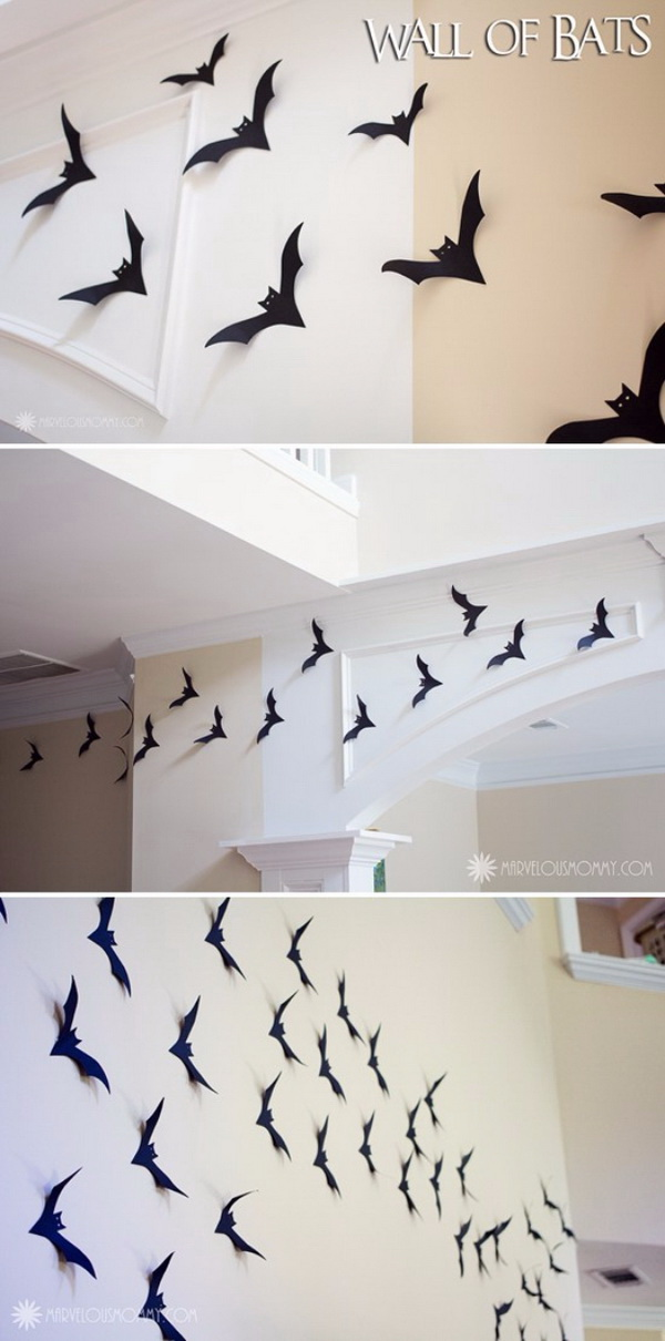 Wall Of Bats.