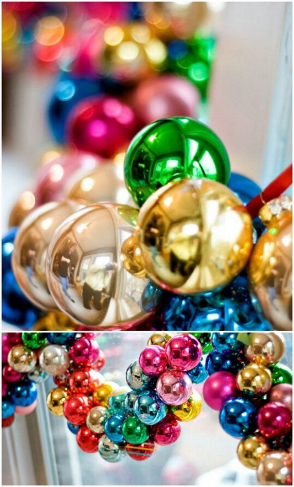 Christmas Ornament Garland.