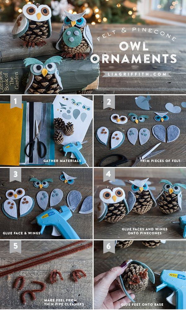 Pinecone Owls.