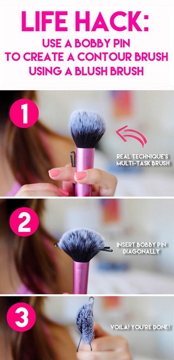 Create a Contour Brush From a Blush Brush.