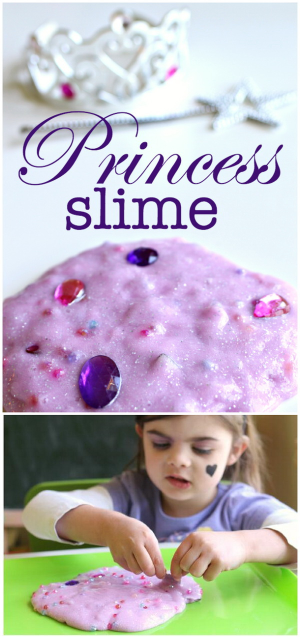 Princess Slime With Dig And Find Gems.