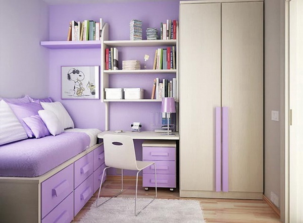 Dream Teen Girl's Bedroom.