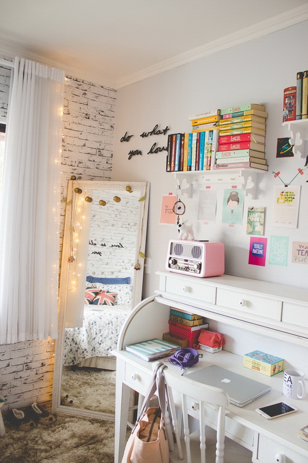 40+ Cool Teenage Girls Bedroom Ideas - Listing More
