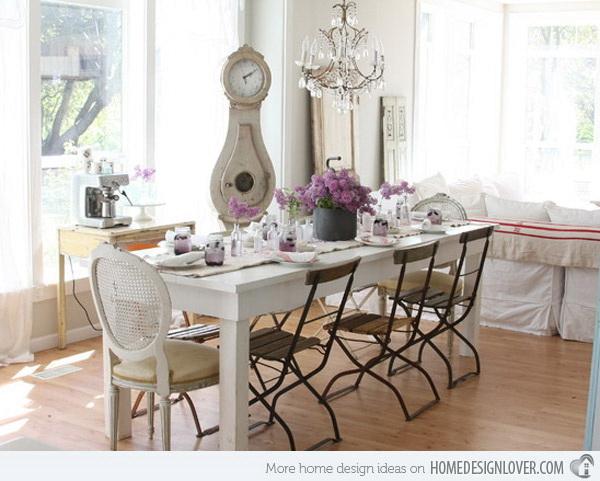 Shabby Chic Dining Room Decor  from listingmore.com