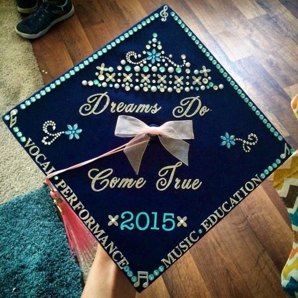 Disney Cinderella Graduation Cap.