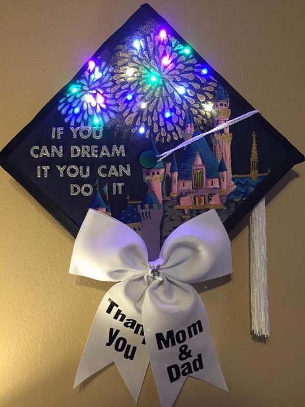 Disney Grad Cap.