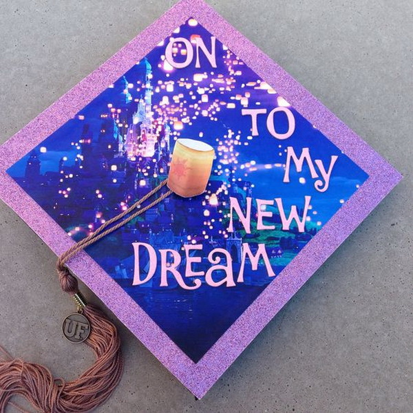 To My New Dream Graduation Cap Idea.