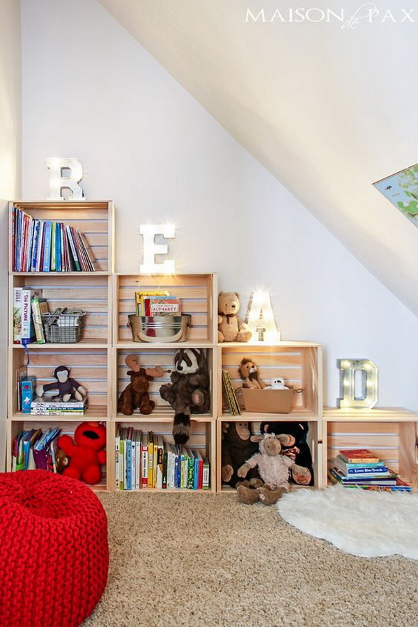 Adorable Reading and Play Room for Kids.