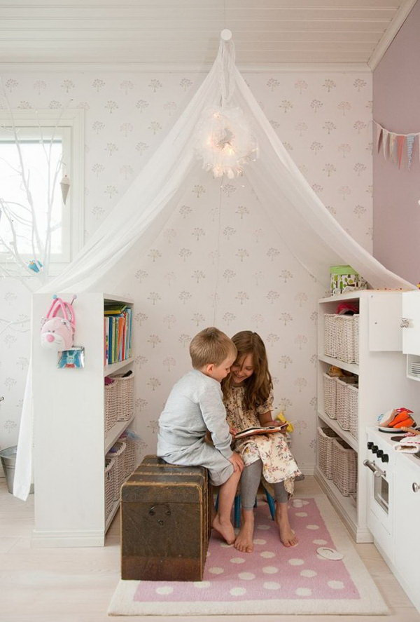 Fantastic Reading Nook For Kids.