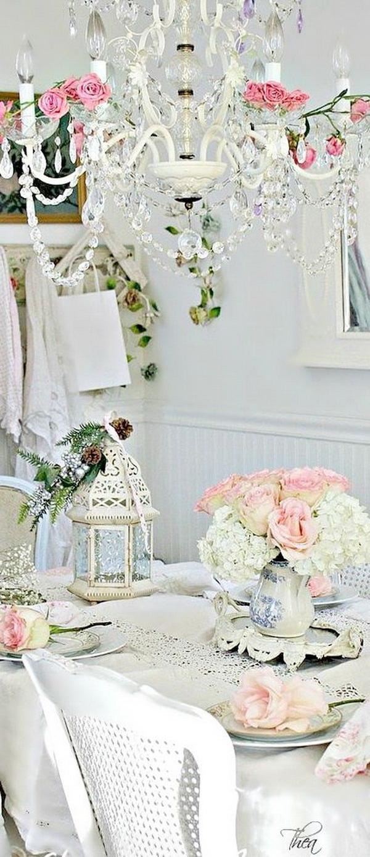 Sala Da Pranzo Country Chic 35+ beautiful shabby chic dining room decoration ideas