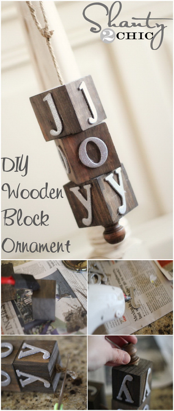 Wooden Christmas Ornament. This wooden ornament will look fabulous on any Christmas tree or used as the holiday gifts!