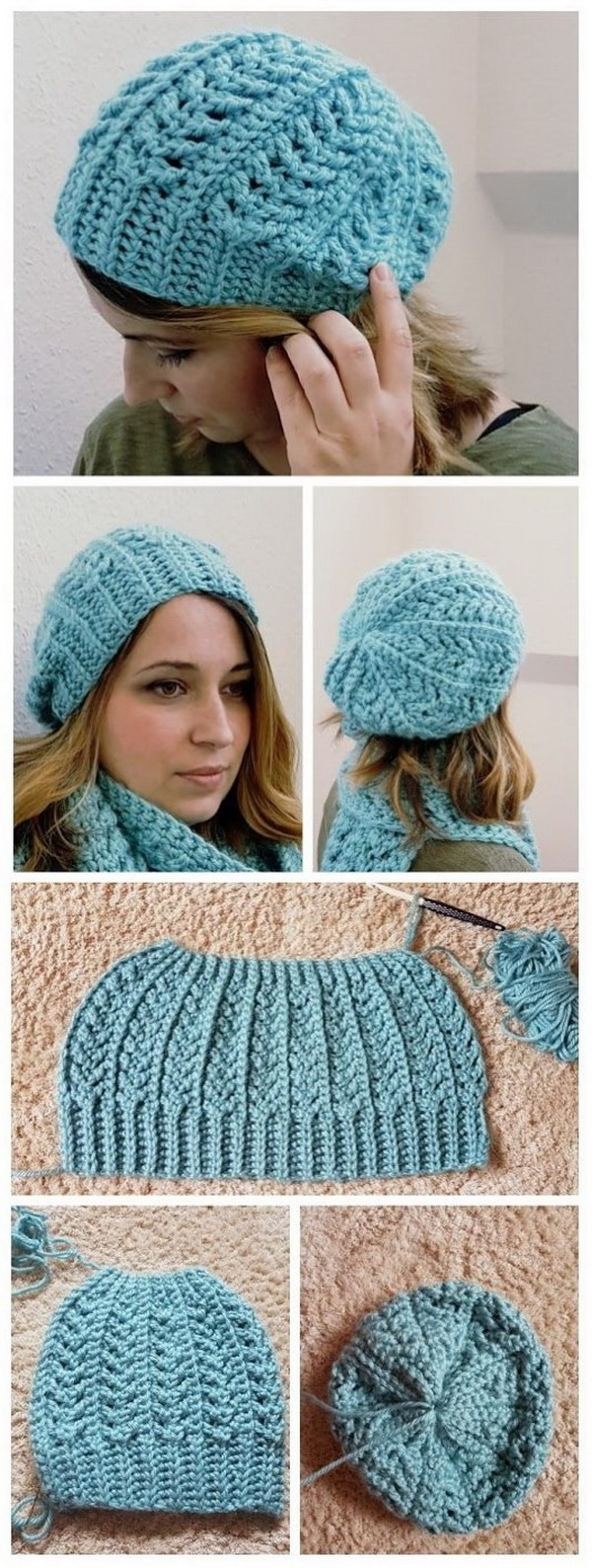 Crochet Flow Hat. Crochet hat makes an ideal first project for beginners.  By learning just a few basic stitches, you can create a beautiful hat that'll keep your head warm and cozy. Love how this crochet flow hat turn out!