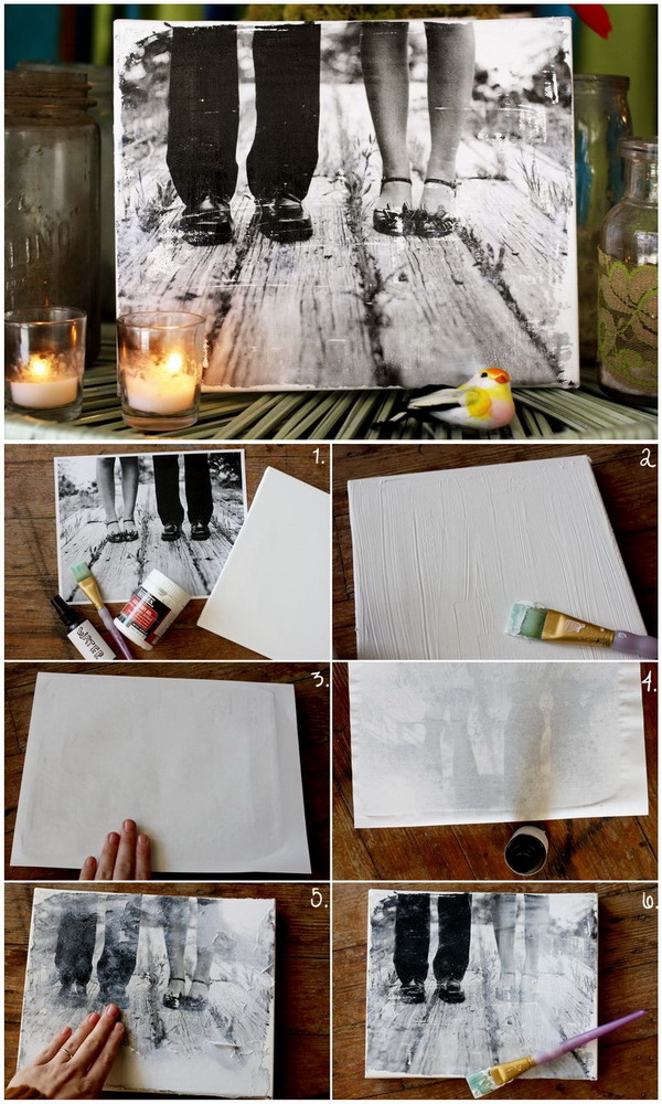 Make Your Own Canvas Portrait.
