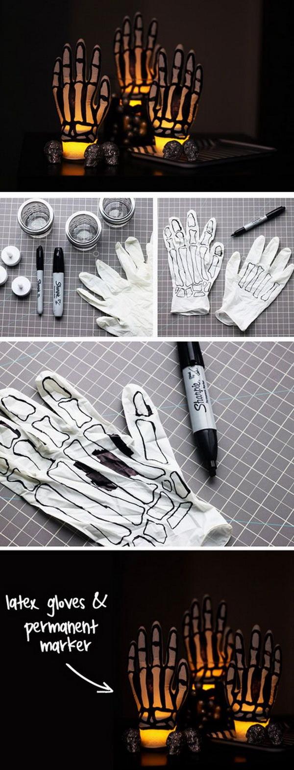 Glowing Skeleton Hands.