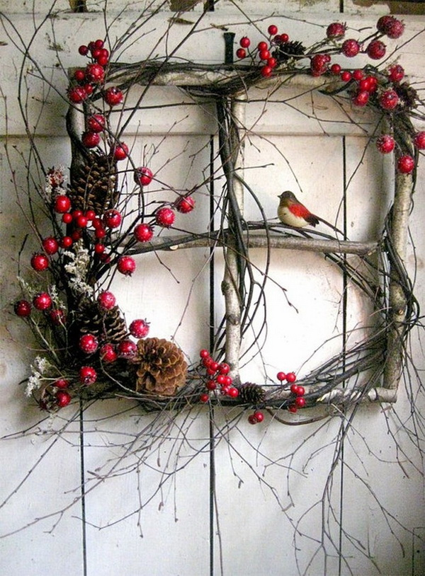 Branches and Berries Wreath.