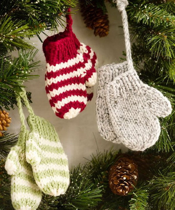Crochet Mitten Ornaments. This is an adorable free crochet mitten pattern for a winter season. You can give these small warm crochet mittens as gifts to kids.