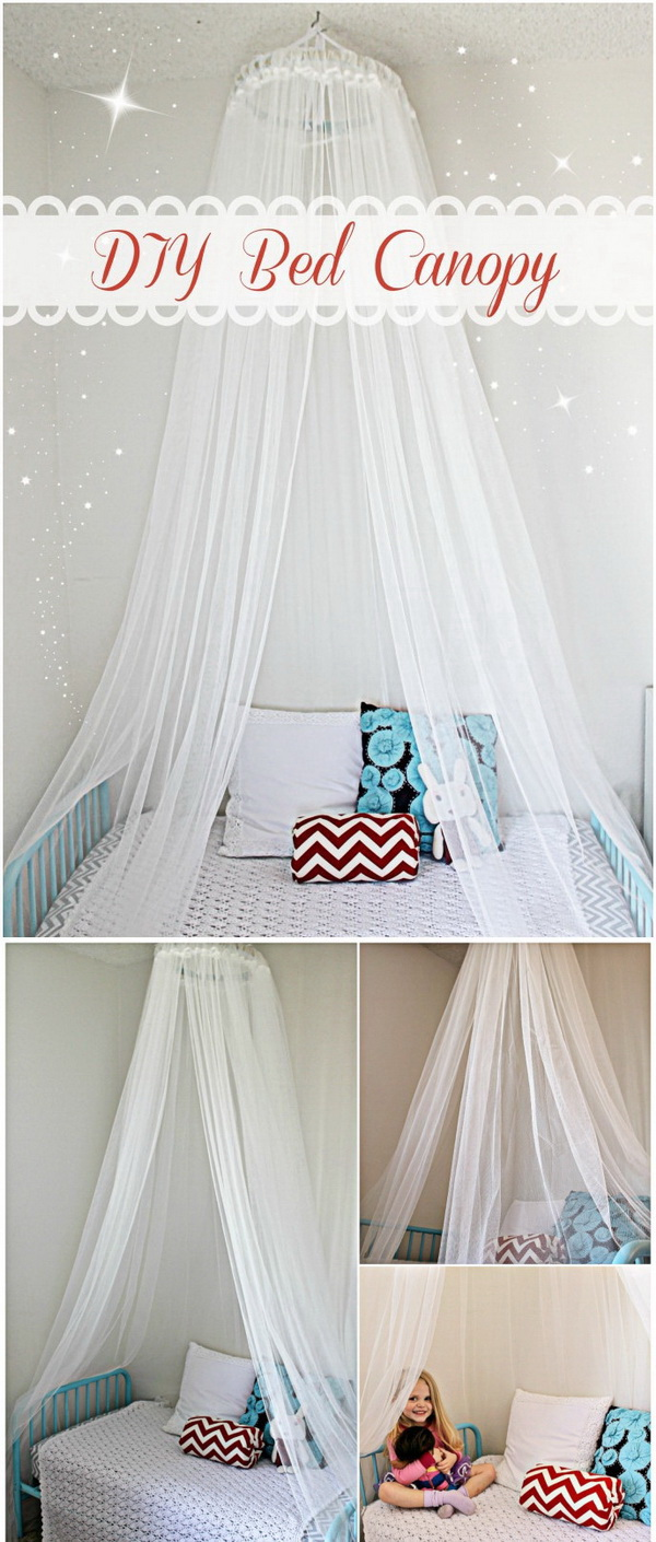 DIY Bed Canopy.