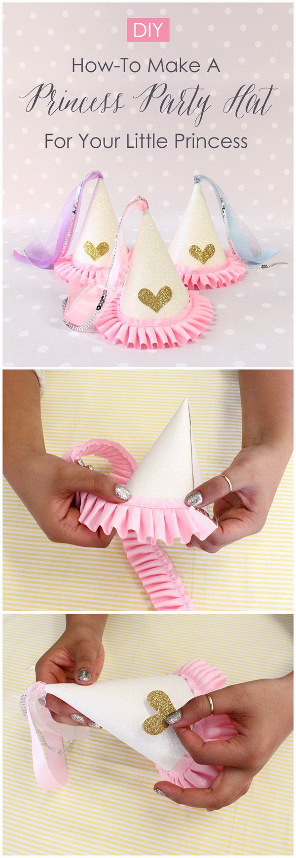 DIY Princess Party Hat.