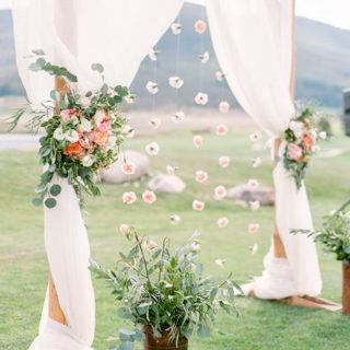 25 Floral Wedding Arch Ideas