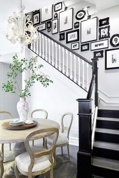 Chic Staircase Decoration Ideas.