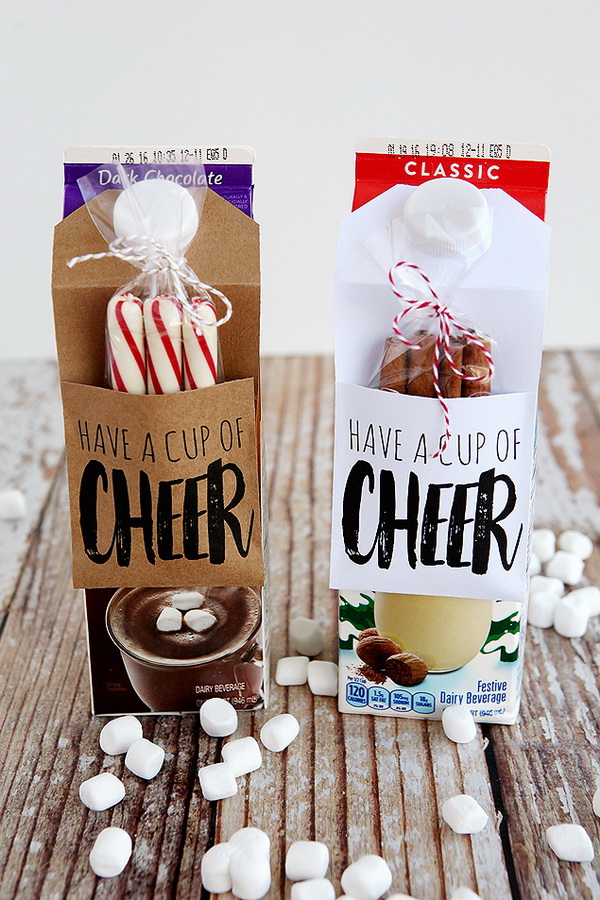 Christmas Neighbor Gift Ideas: Cup of Cheer Gift