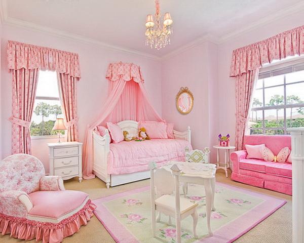 Girlish Bedroom.