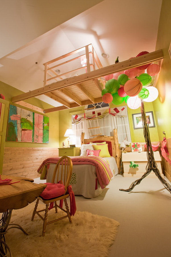 Treehouse Bedroom.