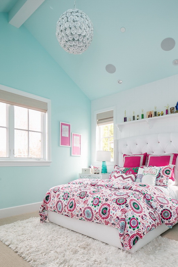 40+ Cool Teenage Girls Bedroom Ideas - Listing More on Teenage Rooms For Girls  id=63463