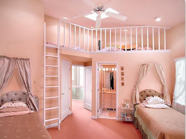 Pink Second Interview Bedroom.