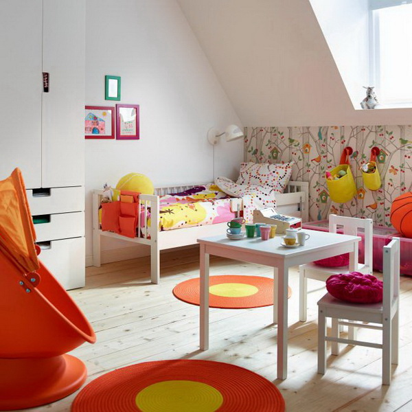 Woodland-Inspired Girl's Bedroom.