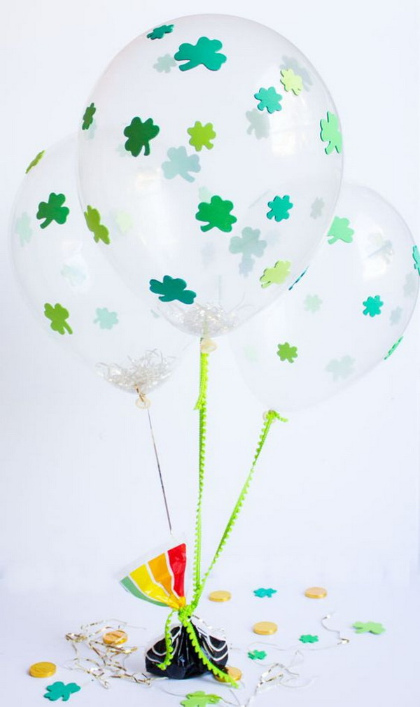 A Balloon Adorned with Clover.